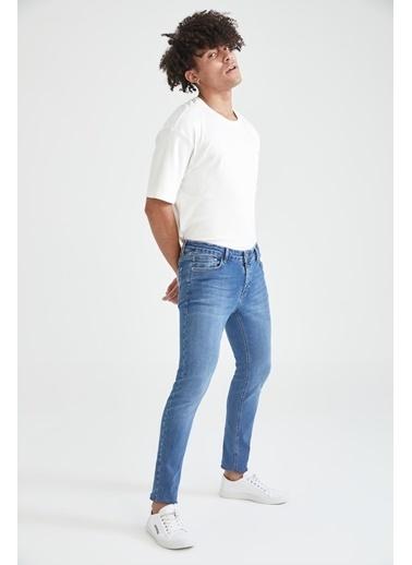 DeFacto Martin Super Skinny Düşük Bel Dar Paça Jean Pantolon Mavi